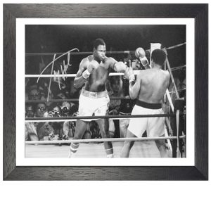 Larry Holmes Framed Signed Photo