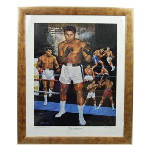 Muhammad Ali Framed Signed Print