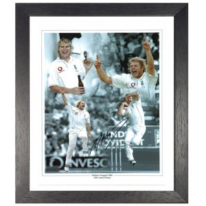 Matthew Hoggard Framed Signed Photo Montage