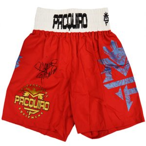 Manny Pacquiao Signed Boxing Trunks