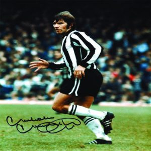 Malcolm Macdonald Signed Photo
