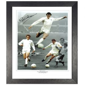 Martin Chivers Framed Signed Photo Montage