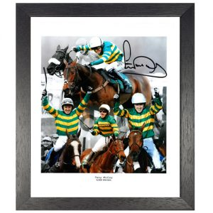 Tony McCoy Framed Signed Photo Montage – 4000 Wins