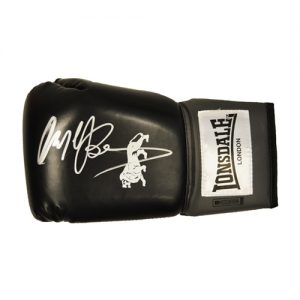 Nigel Benn Signed Glove (Black Lonsdale)