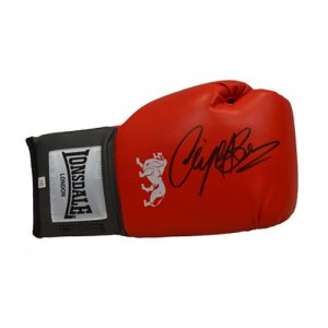 Nigel Benn Signed Glove (Red Lonsdale)