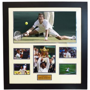 Novak Djokovic Framed Signed Display
