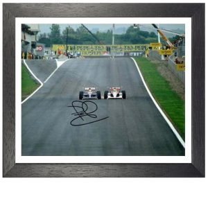 Nigel Mansell Framed Signed Photo