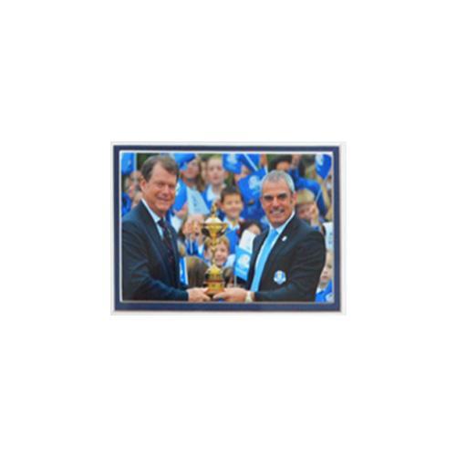 Paul McGinley Framed Signed Presentation