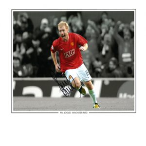Paul Scholes Signed Photo