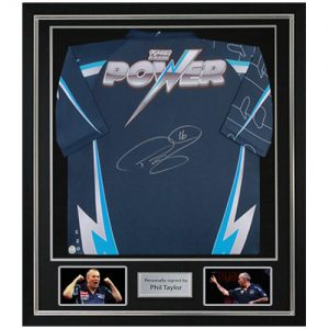 "Phil ""The Power"" Taylor Deluxe Framed Signed Shirt"