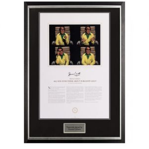 Ronnie Corbett Framed Signed Display