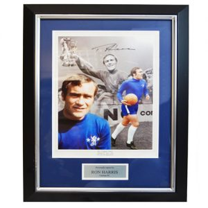 Ron Harris Framed Signed Photo
