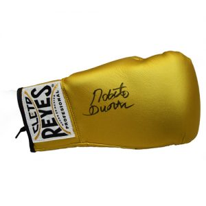 Roberto Duran Signed Boxing Glove in an Acrylic Case