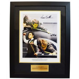 Ronnie O' Sullivan Framed Signed Photo