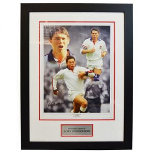 Rory Underwood Framed Signed Photo