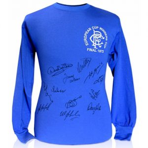 Rangers 1972 Shirt Signed by 12