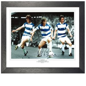Stan Bowles Framed Signed Photo