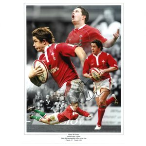 Shane Williams Signed Photo Montage
