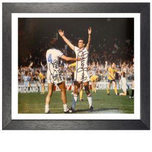 Trevor Brooking & Billy Bonds Framed Signed Photo