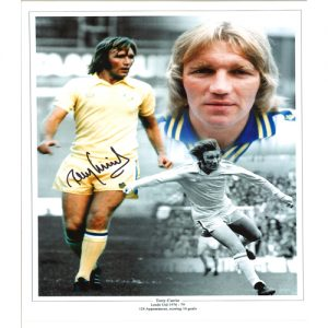 Tony Currie Signed Photo Montage