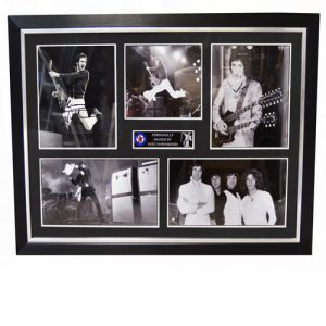 The Who Framed Display Signed by Pete Townshend