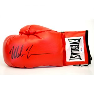Mike Tyson Signed Glove (Red Everlast)