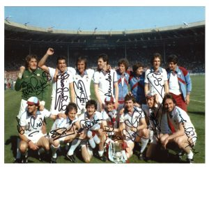 West Ham 1980 Team Photo signed by 12