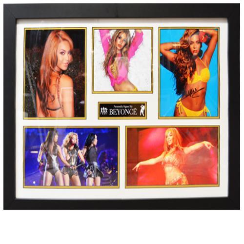 Beyoncé Framed Signed Display