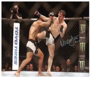 Brad Pickett Signed Photo