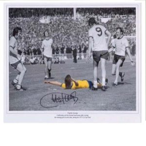 Charlie George Signed Photo