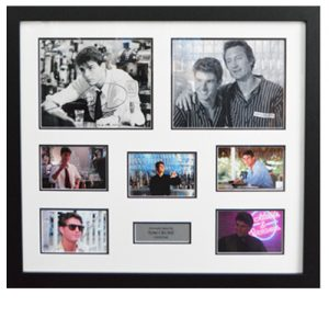 Tom Cruise Framed Signed Cocktail Display