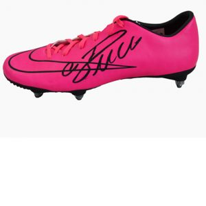 Cristiano Ronaldo Signed Football Boot