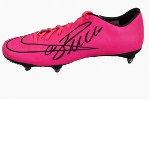 Cristiano Ronaldo Signed Football Boot