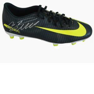 Cristiano Ronaldo Signed Football Boot – Nike Mercurial