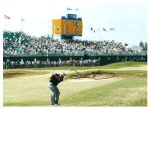 Darren Clarke Signed Photo