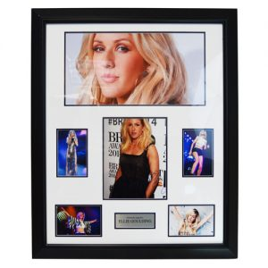 Ellie Goulding Framed Signed Display