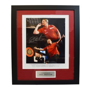 Eric Bristow Framed Signed Photo
