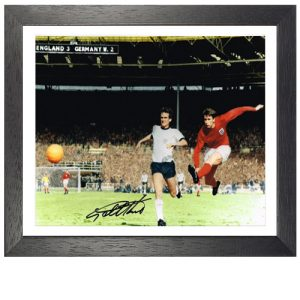 Geoff Hurst Framed Signed Photo