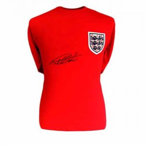 Geoff Hurst Signed England Shirt