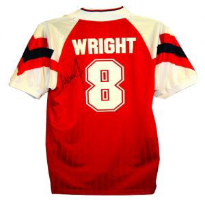 Ian Wright Signed Arsenal Shirt