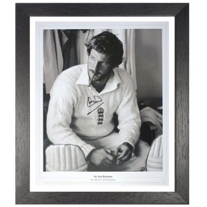 Sir Ian Botham Framed Signed Limited Edition Print