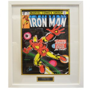 Iron Man Framed Issue 142 Print signed by Stan Lee