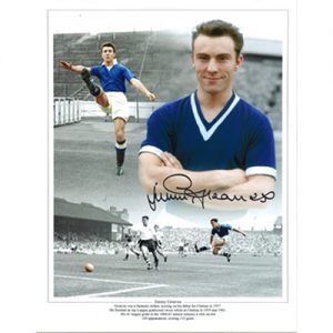 Jimmy Greaves Signed Chelsea Photo Montage