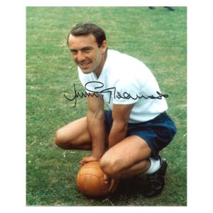 Jimmy Greaves Signed Portrait Photo