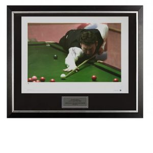 Jimmy White Framed Signed Photo