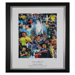 "John Terry Framed Signed Photo - ""Every Minute of Every Game"""