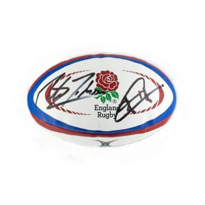 Jonny Wilkinson Martin Johnson Signed England Rugby Ball