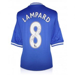 Frank Lampard Signed Chelsea Shirt