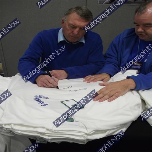Leeds United 1972 Shirt signed by 10