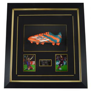 Lionel Messi Framed Signed Football Boot